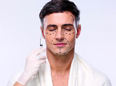 Schönheitschirurgie für Männer